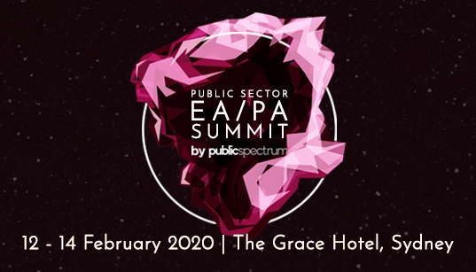 Public Sector EA/PA Summit Event Banner